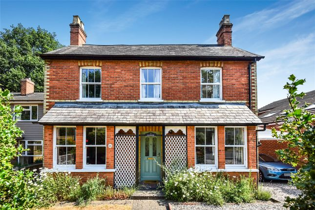 Thumbnail Detached house for sale in Longdown Road, Sandhurst, Berkshire