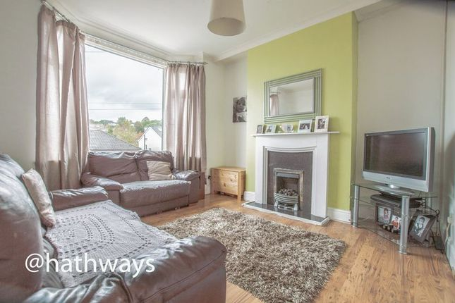 Thumbnail Semi-detached house for sale in Brynglas Road, Newport