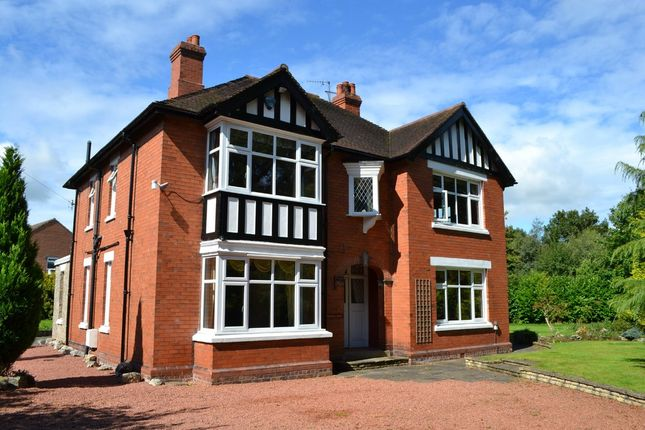 Thumbnail Detached house for sale in Adderley Road, Market Drayton