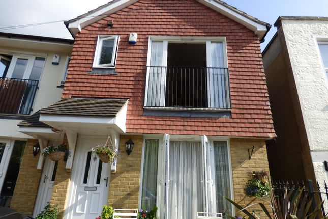 Thumbnail End terrace house to rent in Shortlands Gardens, Bromley