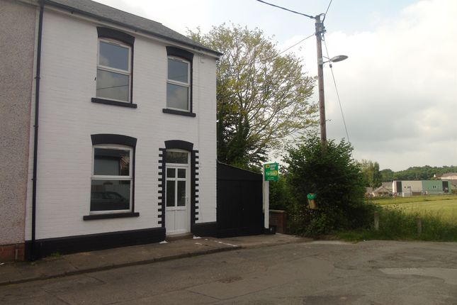 Thumbnail End terrace house for sale in Alexandra Road, Sebastopol, Pontypool