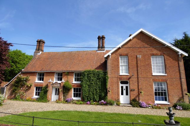 Thumbnail Detached house for sale in Barondole Lane, Topcroft, Bungay