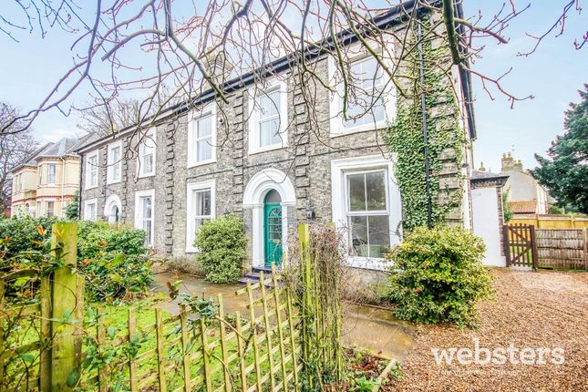 Thumbnail Semi-detached house for sale in Earlham Road, Norwich