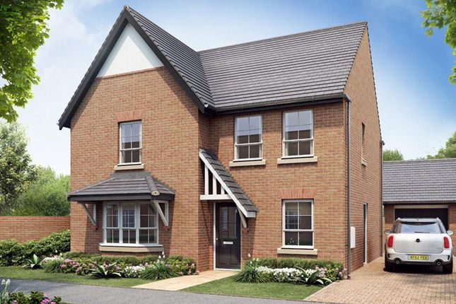"Thumbnail Detached house for sale in ""Cambridge"" at Rykneld Road, Littleover, Derby"
