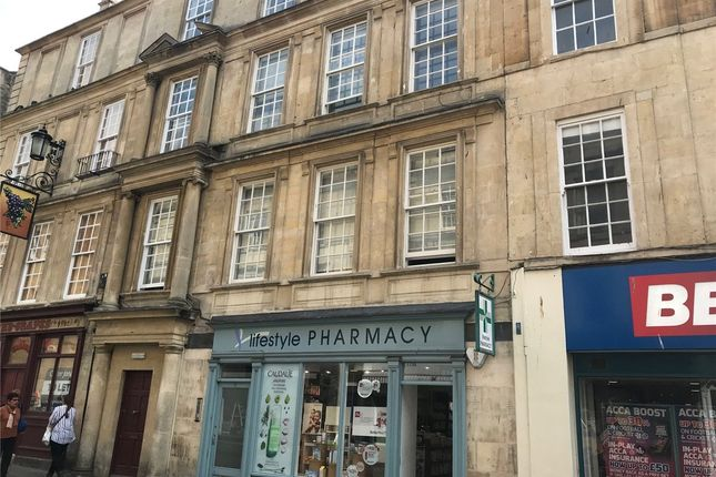 Thumbnail Flat to rent in Westgate Street, Bath