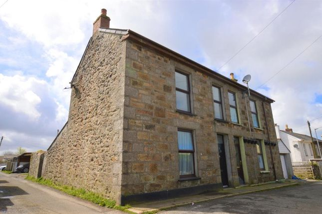 Thumbnail Semi-detached house for sale in Carnarthen Road, Camborne, Cornwall