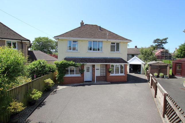 Thumbnail Detached house for sale in Rhosferig Road, Brecon