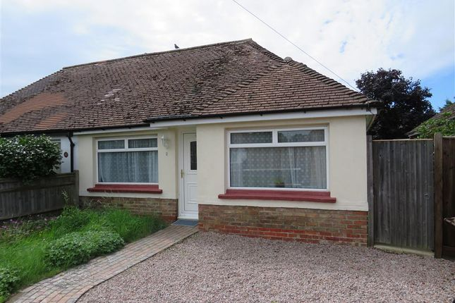Thumbnail Semi-detached bungalow for sale in Southern Avenue, Polegate