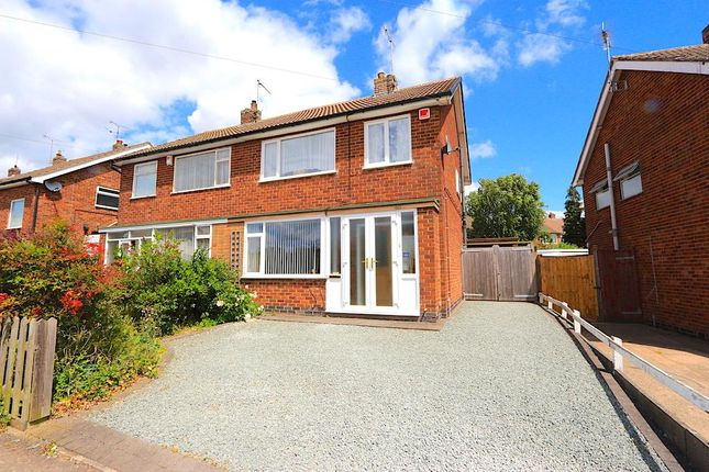 Thumbnail Semi-detached house for sale in St. Marys Avenue, Braunstone, Leicester