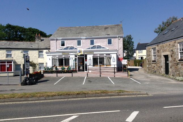 Thumbnail Retail premises for sale in Bodmin, Cornwall