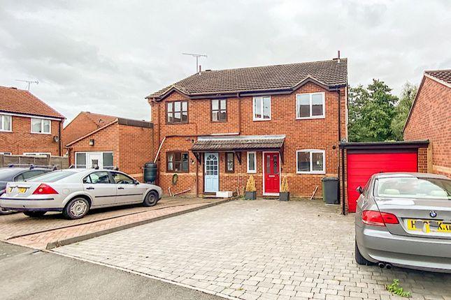 Thumbnail Semi-detached house for sale in Marlborough Drive, Leamington Spa