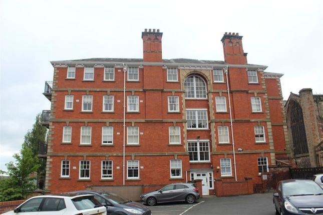 Thumbnail Flat for sale in St. Marys Place, Shrewsbury, Shropshire