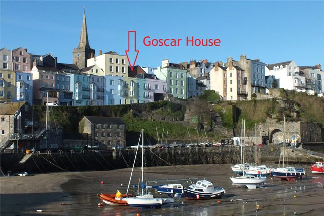 Thumbnail Terraced house for sale in Goscar House, Crackwell Street, Tenby, Pembrokeshire