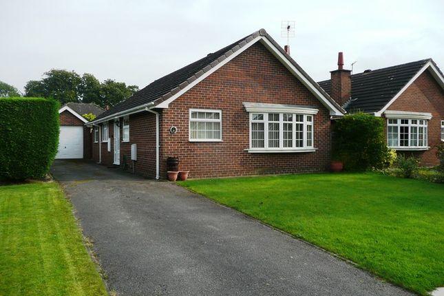 Thumbnail Bungalow to rent in Blackshaw Close, Congleton, Cheshire