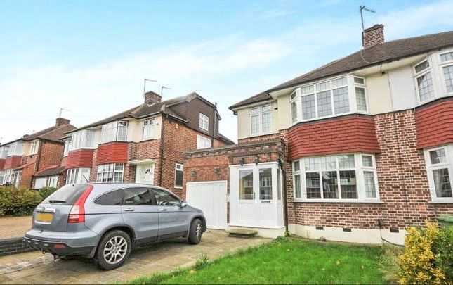 Thumbnail Semi-detached house to rent in West Hallowes, London