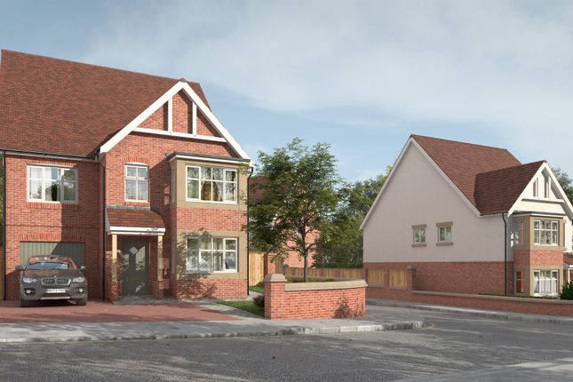 Thumbnail Detached house for sale in The Lily, Wildflower Rise, Mansfield