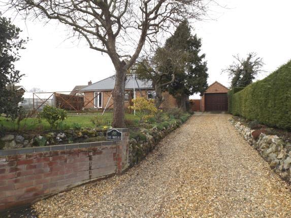 Thumbnail Bungalow for sale in Swardeston, Norwich, Norfolk
