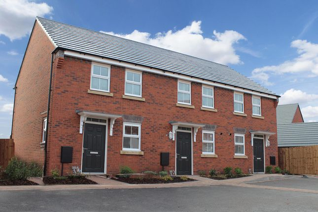 """Thumbnail Terraced house for sale in """"Winton"""" at Welbeck Avenue, Burbage, Hinckley"""
