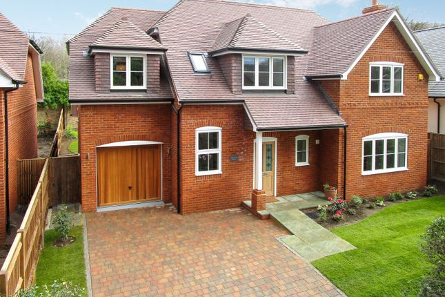 Thumbnail Detached house for sale in Coach Road, Ottershaw, Chertsey