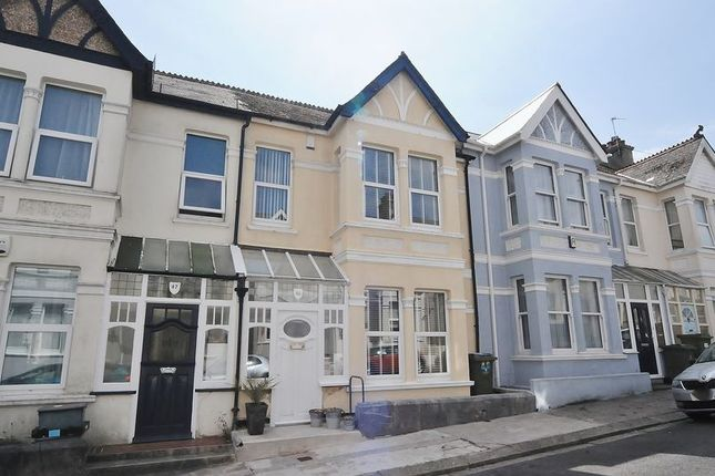 Thumbnail Terraced house for sale in Onslow Road, Plymouth