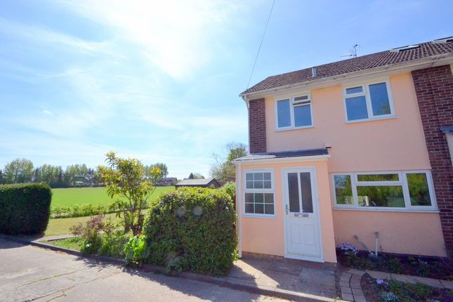 Thumbnail End terrace house for sale in Snow Hill, Clare, Sudbury