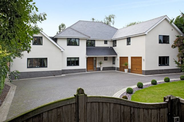 Thumbnail Detached house for sale in Melton Road, Edwalton, Nottingham