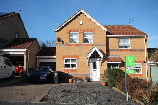 Thumbnail Semi-detached house for sale in Milburn Way, Howden Le Wear, Crook