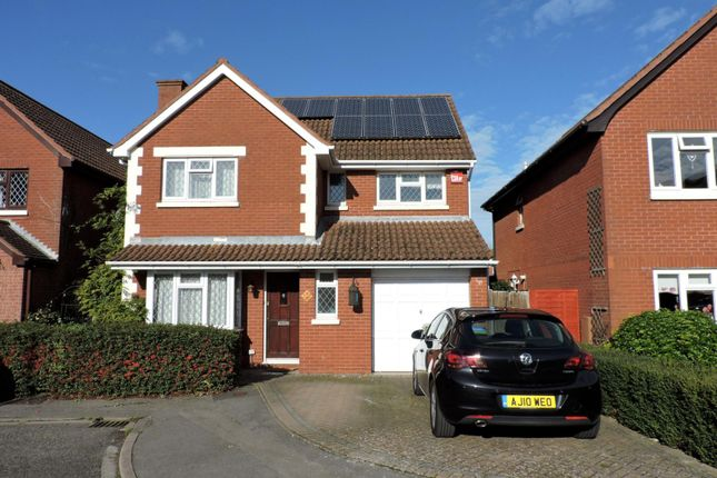 Thumbnail Detached house to rent in Audret Close, Fareham