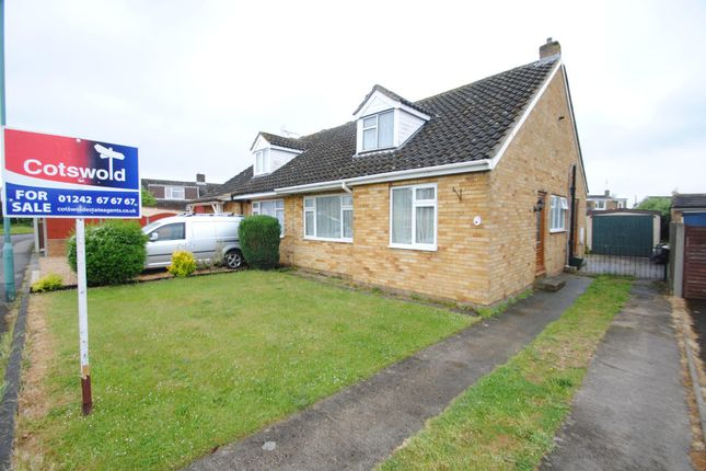 Thumbnail Semi-detached bungalow for sale in Oakfield Road, Bishops Cleeve, Cheltenham