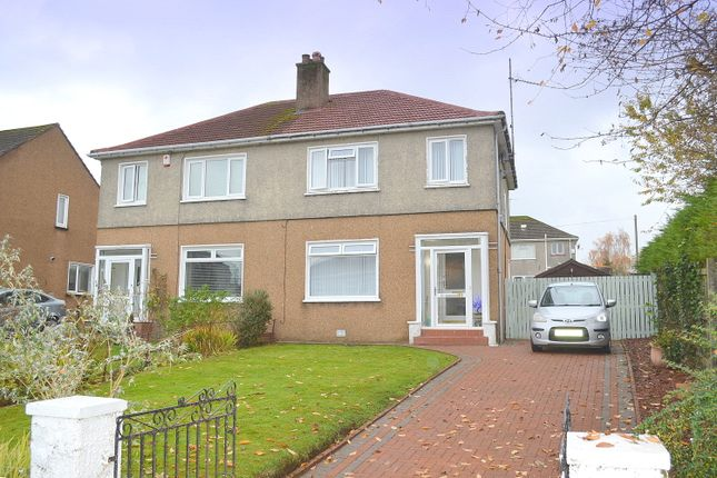 Thumbnail Semi-detached house for sale in Dalnottar Drive, Old Kilpatrick, West Dunbartonshire