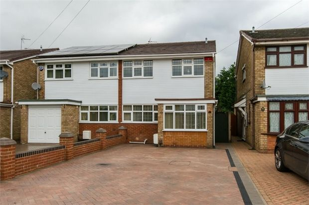 Thumbnail Semi-detached house for sale in Firsvale Road, Wednesfield, Wolverhampton, West Midlands