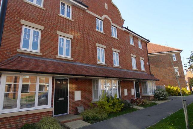 Thumbnail Terraced house for sale in Reid Crescent, Hellingly, Hailsham
