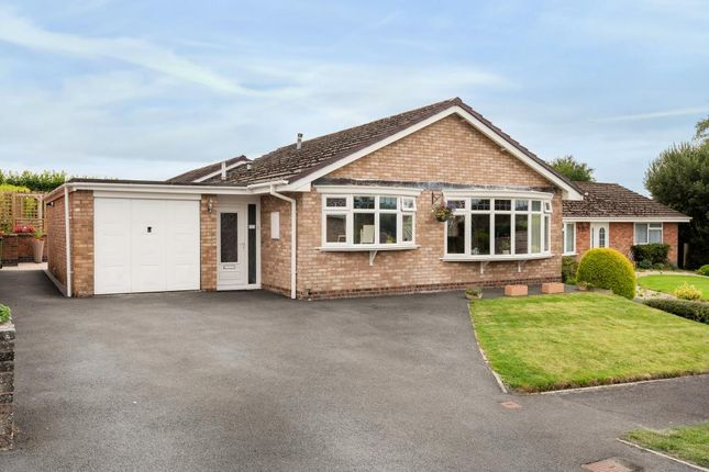 Thumbnail Detached bungalow for sale in Holcombe Drive, Llandrindod Wells, Powys