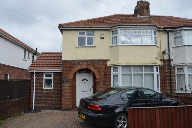 Thumbnail Semi-detached house to rent in Nunsfield Drive, Alvaston, Derby