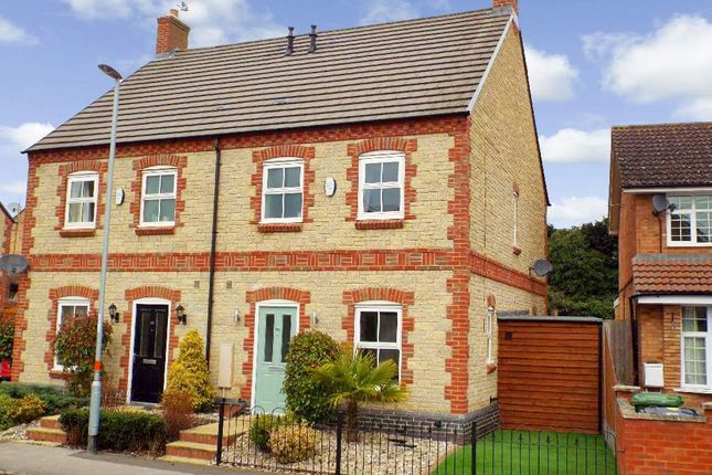 Thumbnail Semi-detached house for sale in High Street, Bozeat, Northamptonshire
