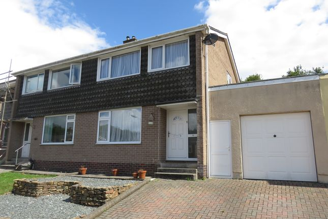 Thumbnail Semi-detached house for sale in Maybrook Drive, Saltash