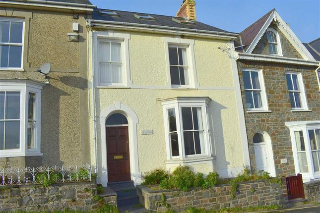 Thumbnail Terraced house for sale in Glanmor Terrace, New Quay, Ceredigion