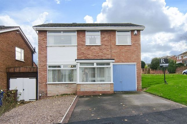 Thumbnail Detached house for sale in Bracken Way, Etching Hill, Rugeley