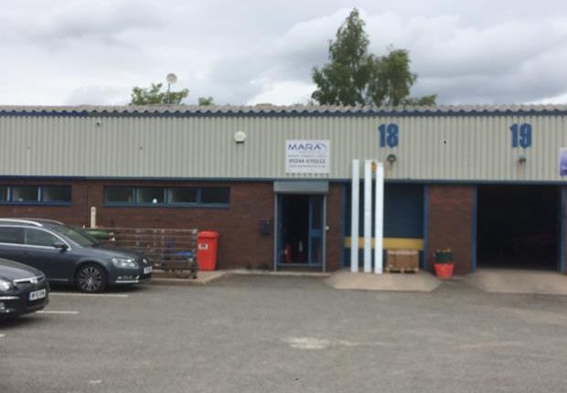 Thumbnail Light industrial to let in Unit 18, Engineer Park, Sandycroft, Flintshire