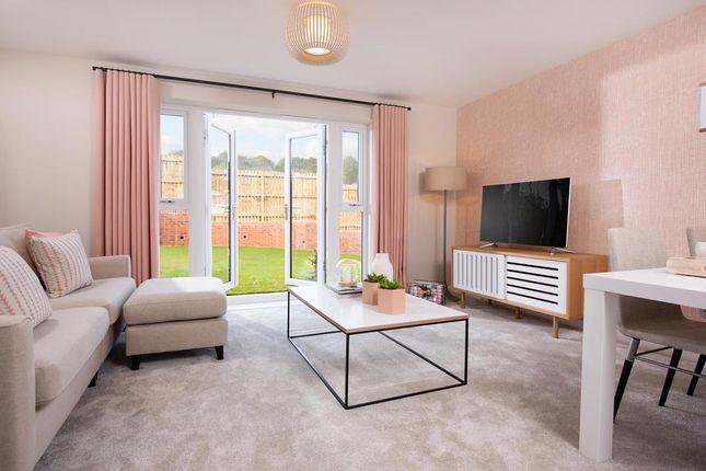 "Thumbnail End terrace house for sale in ""Leven"" at Kingsgate Retail Park, Glasgow Road, East Kilbride, Glasgow"