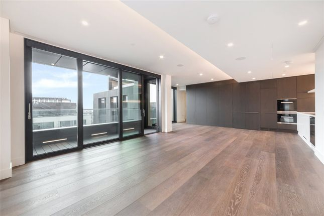 Thumbnail Flat for sale in Rathbone Square, London