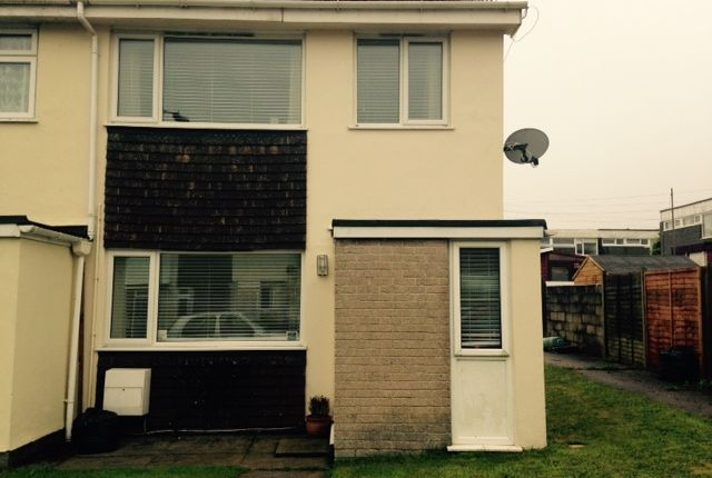 Thumbnail End terrace house to rent in Treswithian Park Road, Camborne