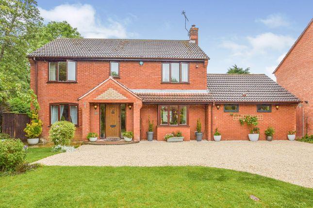 Thumbnail Detached house for sale in Northleigh, Furzton, Milton Keynes