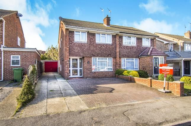 Thumbnail Semi-detached house for sale in Pilgrims Hatch, Brentwood, Essex