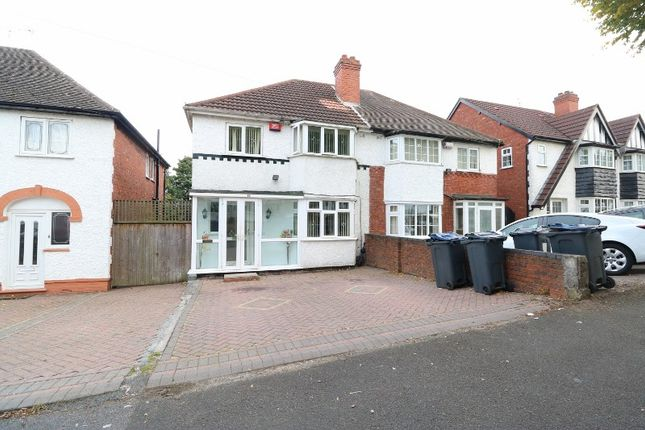 Thumbnail Semi-detached house for sale in Copthall Road, Handsworth