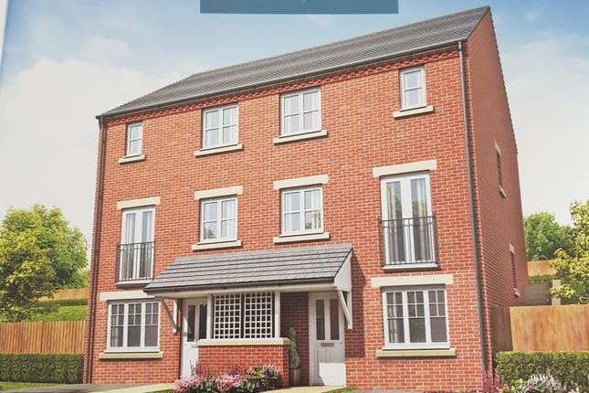 Thumbnail Town house for sale in Holly Close, The Woodlands, Stalybridge