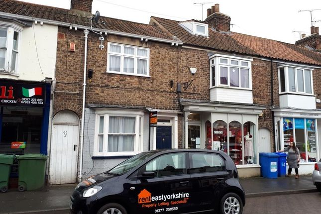 Thumbnail Terraced house to rent in Middle Street South, Driffield