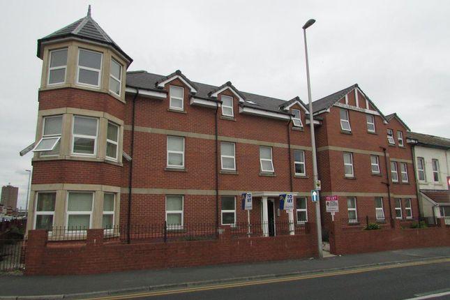 Thumbnail Flat to rent in Grosvenor Street, Blackpool, Lancashire