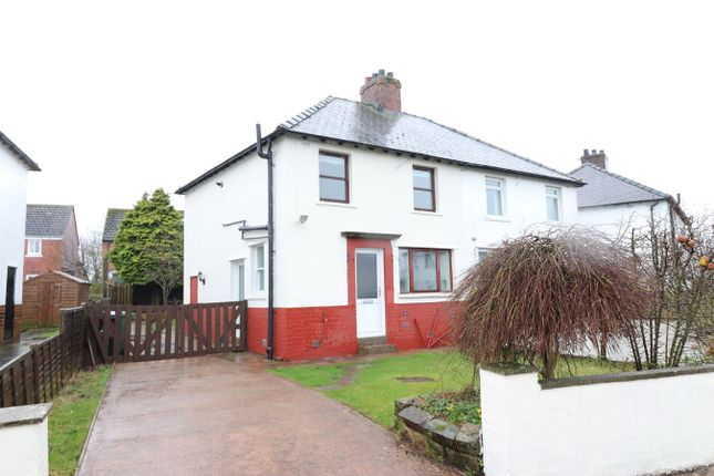 Thumbnail Semi-detached house for sale in The Crescent, Cummersdale, Carlisle