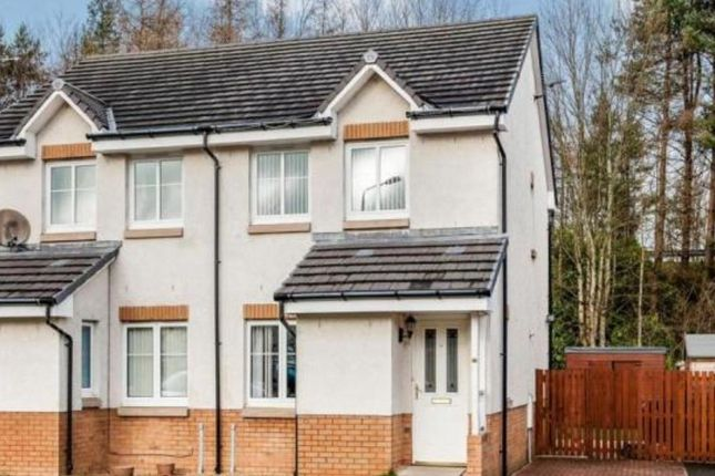 Thumbnail Semi-detached house to rent in Munnoch Way, Plean, Stirlingshire